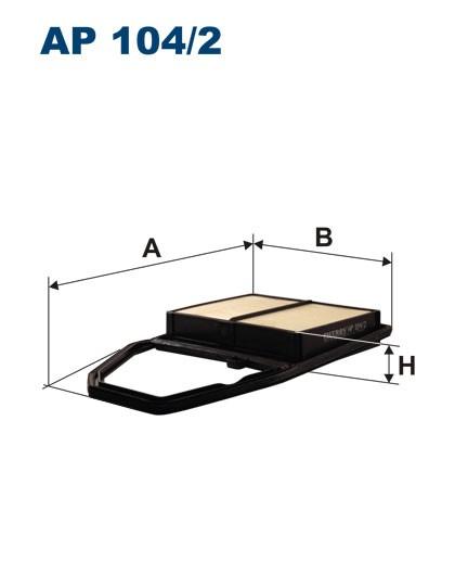 Filtr powietrza AP 104/2 [AP1042] FILTRON