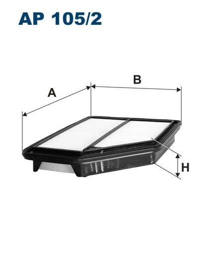 Filtr powietrza AP 105/2 [AP1052] FILTRON