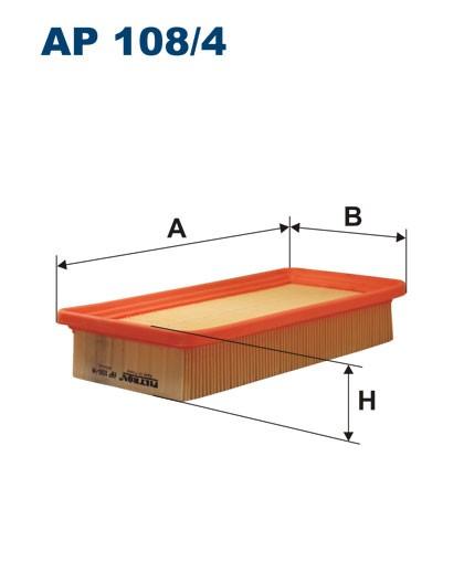 Filtr powietrza AP 108/3 [AP1083] FILTRON