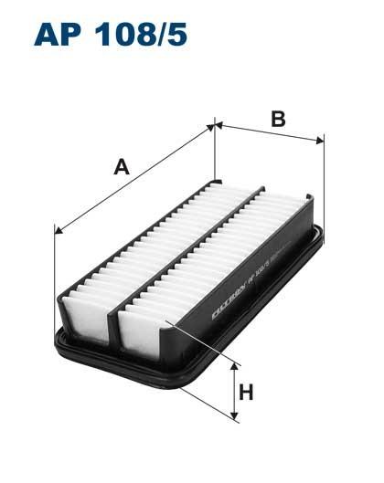 Filtr powietrza AP 108/4 [AP1084] FILTRON