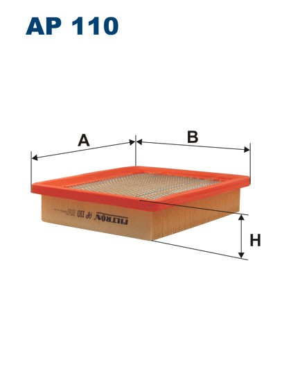 Filtr powietrza AP 110 [AP110] FILTRON