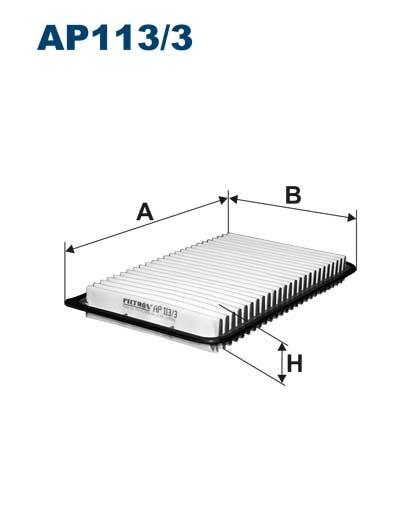 Filtr powietrza AP 113/1 [AP1131] FILTRON