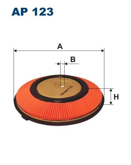 Filtr powietrza AP 123 [AP123] FILTRON
