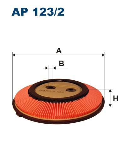 Filtr powietrza AP 123/2 [AP1232] FILTRON
