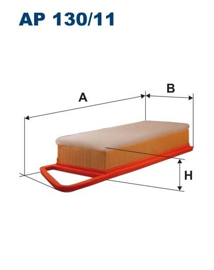 Filtr powietrza AP 130/11 [AP13011] FILTRON