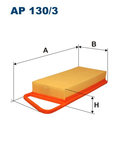 Filtr powietrza AP 130/3 [AP1303] FILTRON