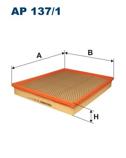 Filtr powietrza AP 137/1 [AP1371] FILTRON