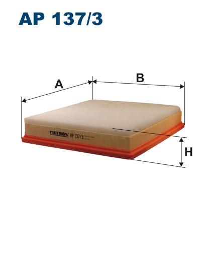 Filtr powietrza AP 137/3 [AP1373] FILTRON