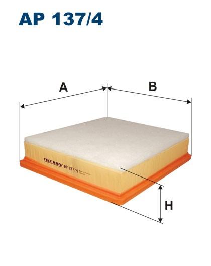 Filtr powietrza AP 137/4 [AP1374] FILTRON