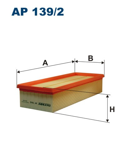 Filtr powietrza AP 139/2 [AP1392] FILTRON