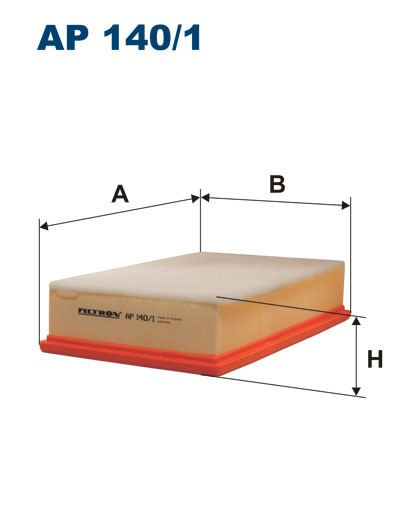 Filtr powietrza AP 140/1 [AP1401] FILTRON