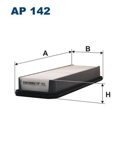 Filtr powietrza AP 142 [AP142] FILTRON
