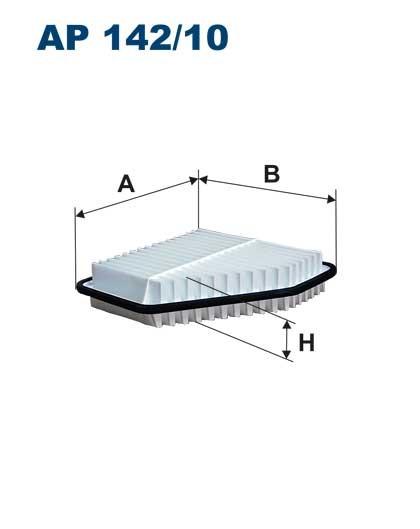 Filtr powietrza AP 142/10 [AP14210] FILTRON