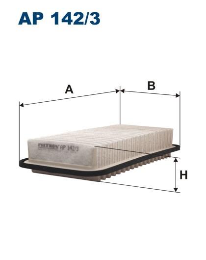 Filtr powietrza AP 142/3 [AP1423] FILTRON
