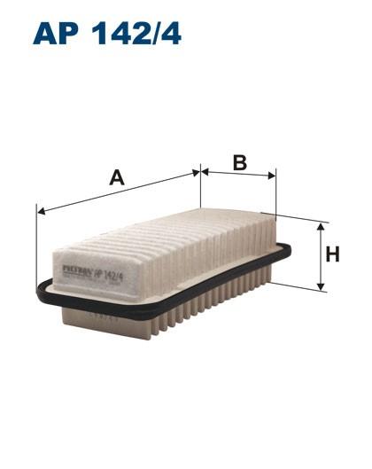 Filtr powietrza AP 142/4 [AP1424] FILTRON