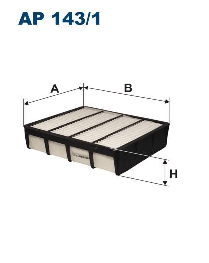 Filtr powietrza AP 143/1 [AP1431] FILTRON