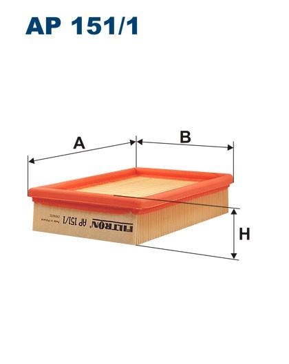Filtr powietrza AP 151/1 [AP1511] FILTRON