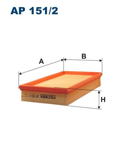 Filtr powietrza AP 151/2 [AP1512] FILTRON