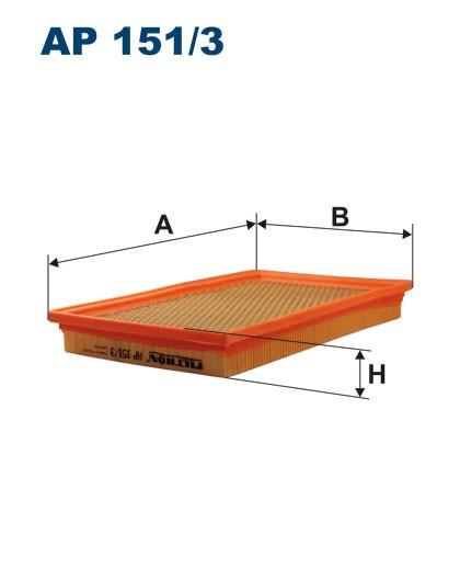 Filtr powietrza AP 151/3 [AP1513] FILTRON