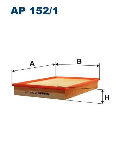 Filtr powietrza AP 152/1 [AP1521] FILTRON