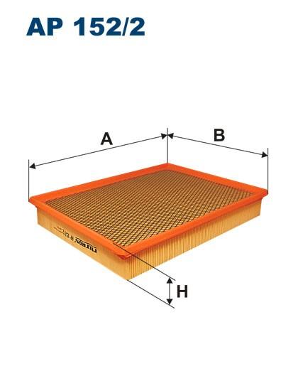 Filtr powietrza AP 152/2 [AP1522] FILTRON