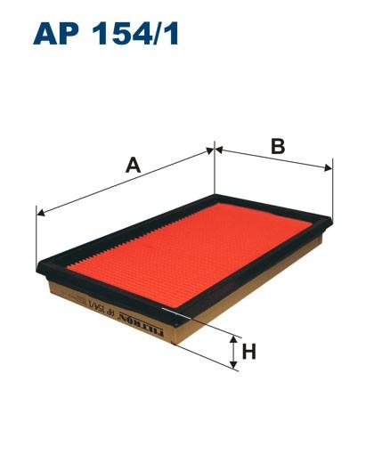 Filtr powietrza AP 154/1 [AP1541] FILTRON