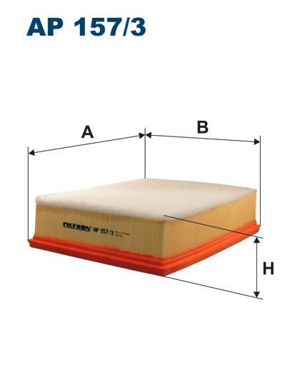 Filtr powietrza AP 157/3 [AP1573] FILTRON