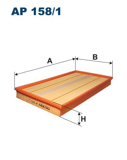 Filtr powietrza AP 158/1 [AP1581] FILTRON