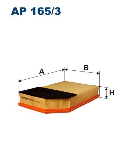 Filtr powietrza AP 165/3 [AP1653] FILTRON