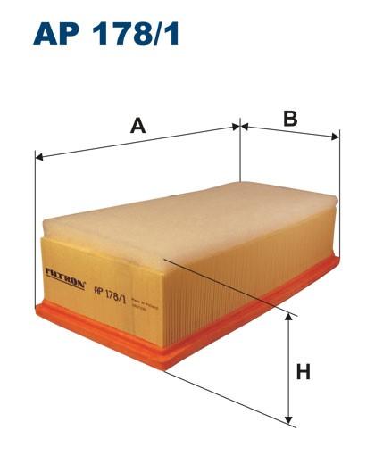 Filtr powietrza AP 178/1 [AP1781] FILTRON