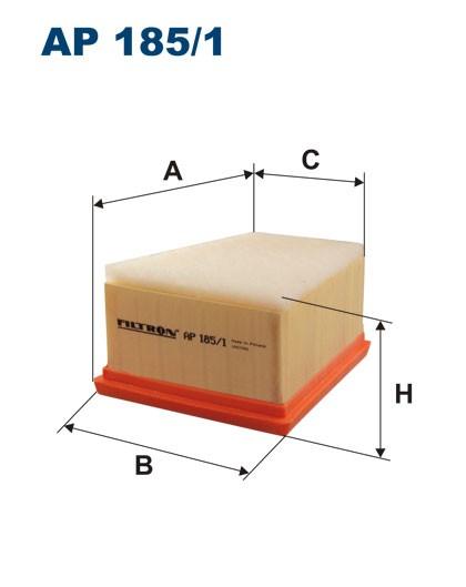 Filtr powietrza AP 185/1 [AP1851] FILTRON