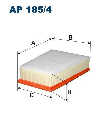 Filtr powietrza AP 185/4 [AP1854] FILTRON