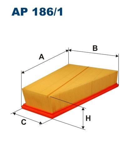 Filtr powietrza AP 186/1 [AP1861] FILTRON