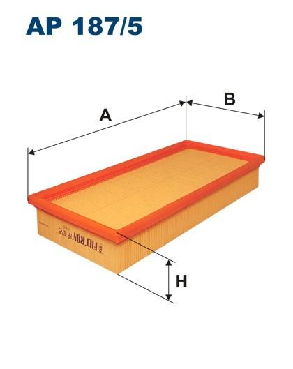 Filtr powietrza AP 187/5 [AP1875] FILTRON