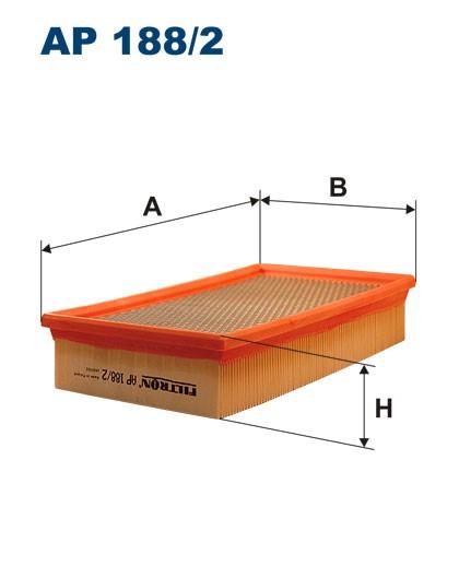 Filtr powietrza AP 188/2 [AP1882] FILTRON