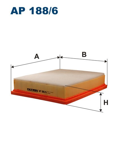 Filtr powietrza AP 188/6 [AP1886] FILTRON