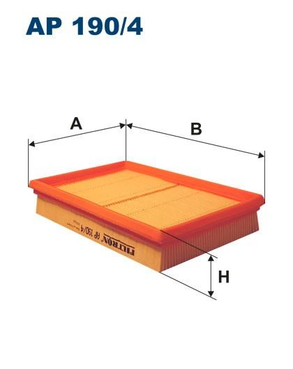 Filtr powietrza AP 190/4 [AP1904] FILTRON