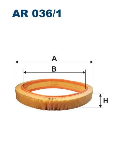 Filtr powietrza AR 036/1 [AR0361] FILTRON