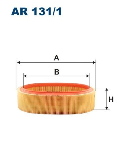Filtr powietrza AR 131/1 [AR1311] FILTRON