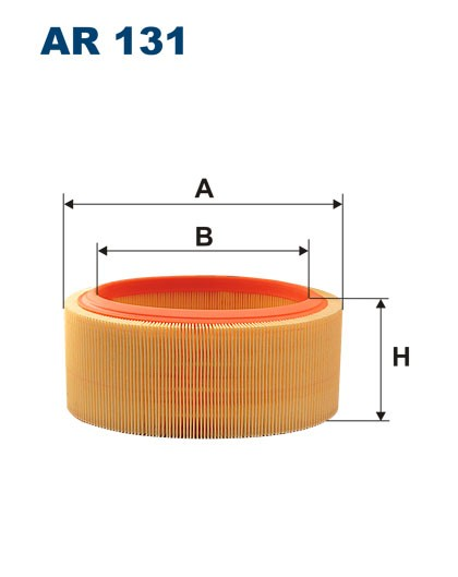 Filtr powietrza AR 131 [AR131] FILTRON