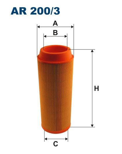 Filtr powietrza AR 200/3 [AR2003] FILTRON