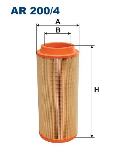 Filtr powietrza AR 200/4 FILTRON [AR2004]