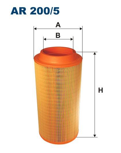 Filtr powietrza AR 200/5 [AR2005] FILTRON