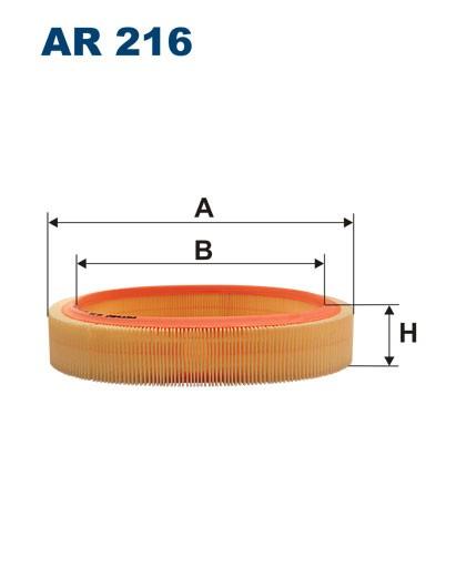 Filtr powietrza AR 216 [AR216] FILTRON