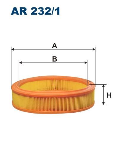 Filtr powietrza AR 232/1 [AR2321] FILTRON