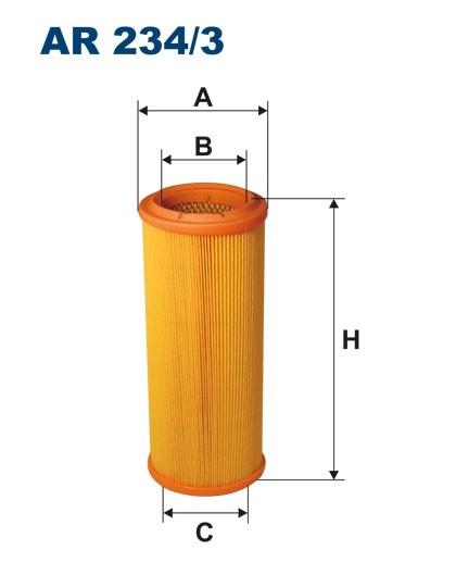 Filtr powietrza AR 234/3 [AR2343] FILTRON