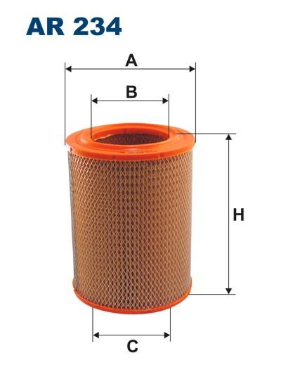 Filtr powietrza AR 234 [AR234] FILTRON