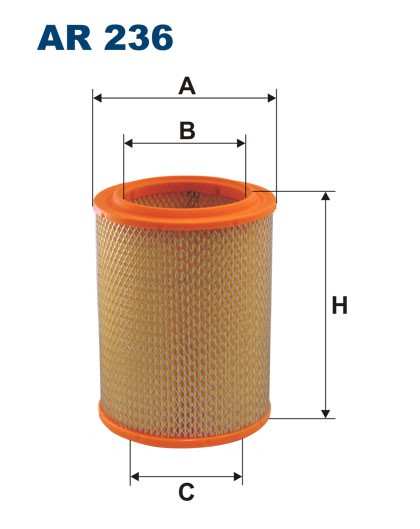 Filtr powietrza AR 236 [AR236] FILTRON