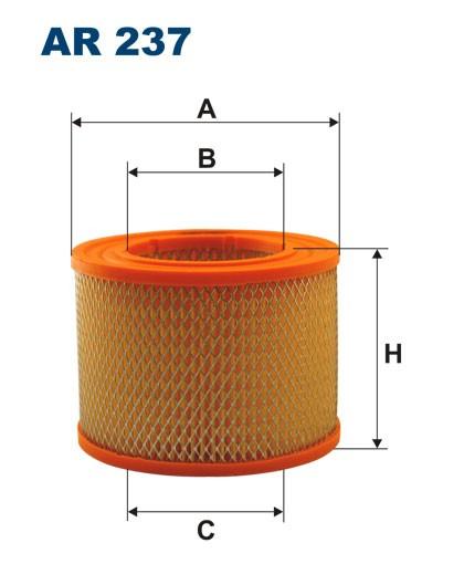 Filtr powietrza AR 237 [AR237] FILTRON