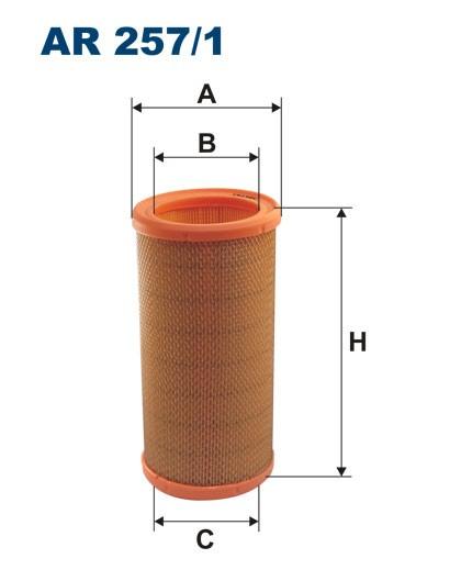 Filtr powietrza AR 257/1 [AR2571] FILTRON